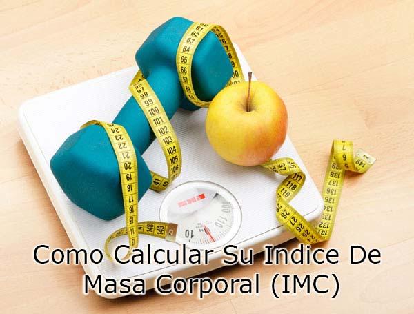 Como Calcular Su Indice De Masa Corporal (IMC)